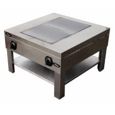Плита 2-конфорочная Ф1пэ(2 конфорки, плита-тумба) Grill Master 24043