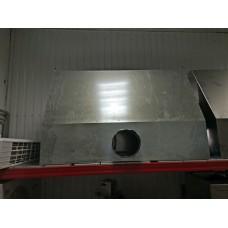Зонт вытяжной оцинкованный 1500x1100х400 с жироуловителями б/у