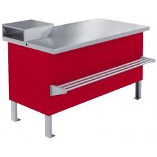 Прилавок холодильный среднетемпературный «Мясной» ПХС-1,25/0,85 (встроенное холодоснабжение) МХМ