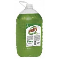 "Средство для мытья посуды ""Velly"" light (зеленое яблоко) 5кг. Grass"