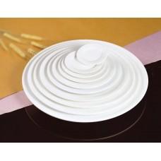 Блюдо круглое фарфор FAIRWAY 30,5см с бортом 4005