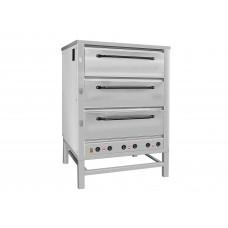 Хлебопекарная ярусная печь ХПЭ-500 (нержавеющие дверки).