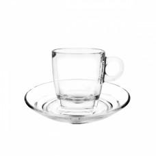 """Блюдце d14,5см """"Caffe"""", стекло"""