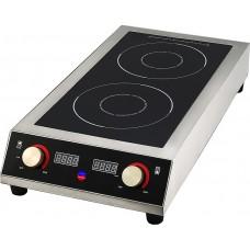 Плита индукционная Indokor двухконфорочная IN7000 D