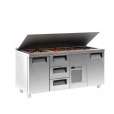 Стол холодильный SL 3GN Сarboma (T70 M3sal-1 0430)