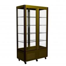 Витрина-шкаф R800C Сarboma (D4 VM 800-1(беж-корич, станд цвета))