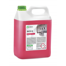 "Щелочное моющее средство ""Bios B"" (канистра 5,5 кг) Grass"