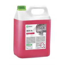 """Высококонцентрированное щелочное средство """"Bios K"""" (канистра 5,6 кг) Grass"""