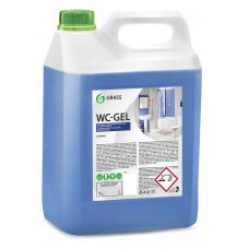 """Средство для чистки сантехники """"WC-gel"""" (канистра 5,3 кг) Grass"""