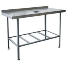 Стол для сбора остатков пищи ССОП-800/600/870 НЕРЖ