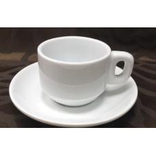 Блюдце кофейное фарфор FAIRWAY к чашке 4892A 120мл