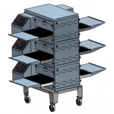Подставка ПП-400-01 для печи ПЭК-400 на 3 яруса Абат