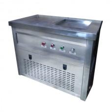 Фризер для ролл мороженого KCB-1F Foodatlas (стол для топпингов)