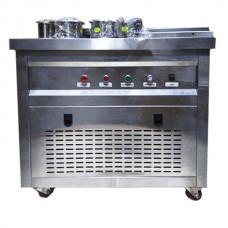 Фризер для ролл мороженого KCB-1Y Foodatlas (контейнеры, световой короб)