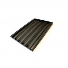 Противень Apach 600X400 алюминиевый д/багетов2