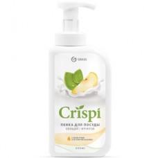 """Средство для мытья посуды """"CRISPI"""" ПЕНКА с соком груши и экстрактом базилика 550 мл"""