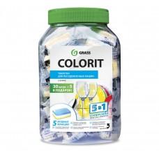 """Таблетки для посудомоечной машины """"Colorit"""" 5в1 35 шт"""