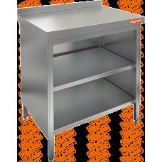 Стол производственный пристенный закрытый с 3-х сторон  HICOLD  НСЗО-6/6Б