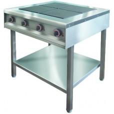 Плита 4 конфорочная 900сер ITERMA пкэ-4пр-1070/850/860-24