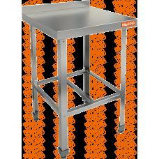Стол пристенный с бортом с полкой решеткой  HICOLD  НСО-6/6Б ЭЦ