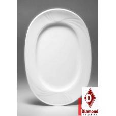 Блюдо овальное фарфор APULUM AURA 34см