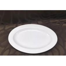 Блюдо овальное фарфор FAIRWAY 20,5см с боротом 4689