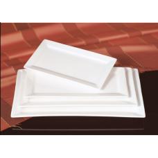 Блюдо прямоугольное с бортом фарфор FAIRWAY 25,5см 4616C
