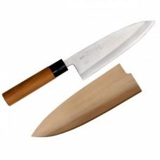 Нож для разделки рыбы 19,5см, с чехлом