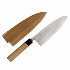 Нож для разделки рыбы 21см, с чехлом