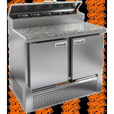 Стол холодильный для пиццы  HICOLD  PZE2-11/GN камень
