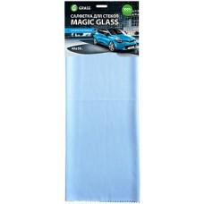 Салфетка микрофибра для стекла Magic Glass 40*50 (1шт) Grass