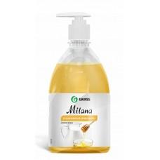 """Крем-мыло жидкое увлажняющее """"Milana молоко и мед"""" (флакон 500 мл) Grass"""