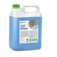 """Нейтральное средство для мытья пола """"Floor wash"""" (канистра 5,1 кг) Grass"""
