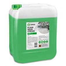 """Щелочное средство для мытья пола """"Floor wash strong"""" (канистра 10 кг) Grass"""