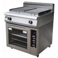 Поверхность жарочная газовая Ф2ЖТЛПЖДГ(п) с духовкой Grill Master 13007п