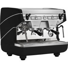Кофемашина Nuova Simonelli Appia II Compact 2Gr S 220V Black (полуавт.2 выс.гр. экономайзер, черная)