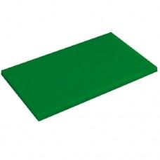 Доска разделочная 400х300мм h12мм, зеленая