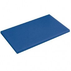 Доска разделочная 400х300мм h12мм, синяя