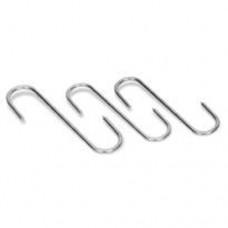 Крюк для мяса в форме S 16см, нерж.сталь