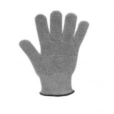 Перчатка защитная, ткань, цвет серый