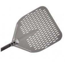 Лопата для пиццы квадратная Itpizza перфорированная 33х33х184см A-32RF